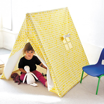 THE KIDS' TENT - YELLOW LEAVES