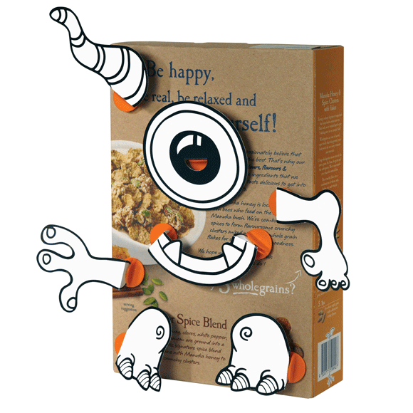 BOX PROPS - SZÖRNYEK