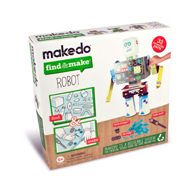 FIND AND MAKE ROBOT